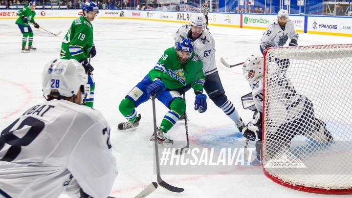 «Салават Юлаев» забил 6 шайб в меньшинстве с начала сезона
