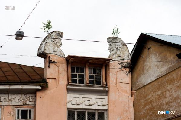 Шахматный дом был одной из изюминок Нижнего Новгорода