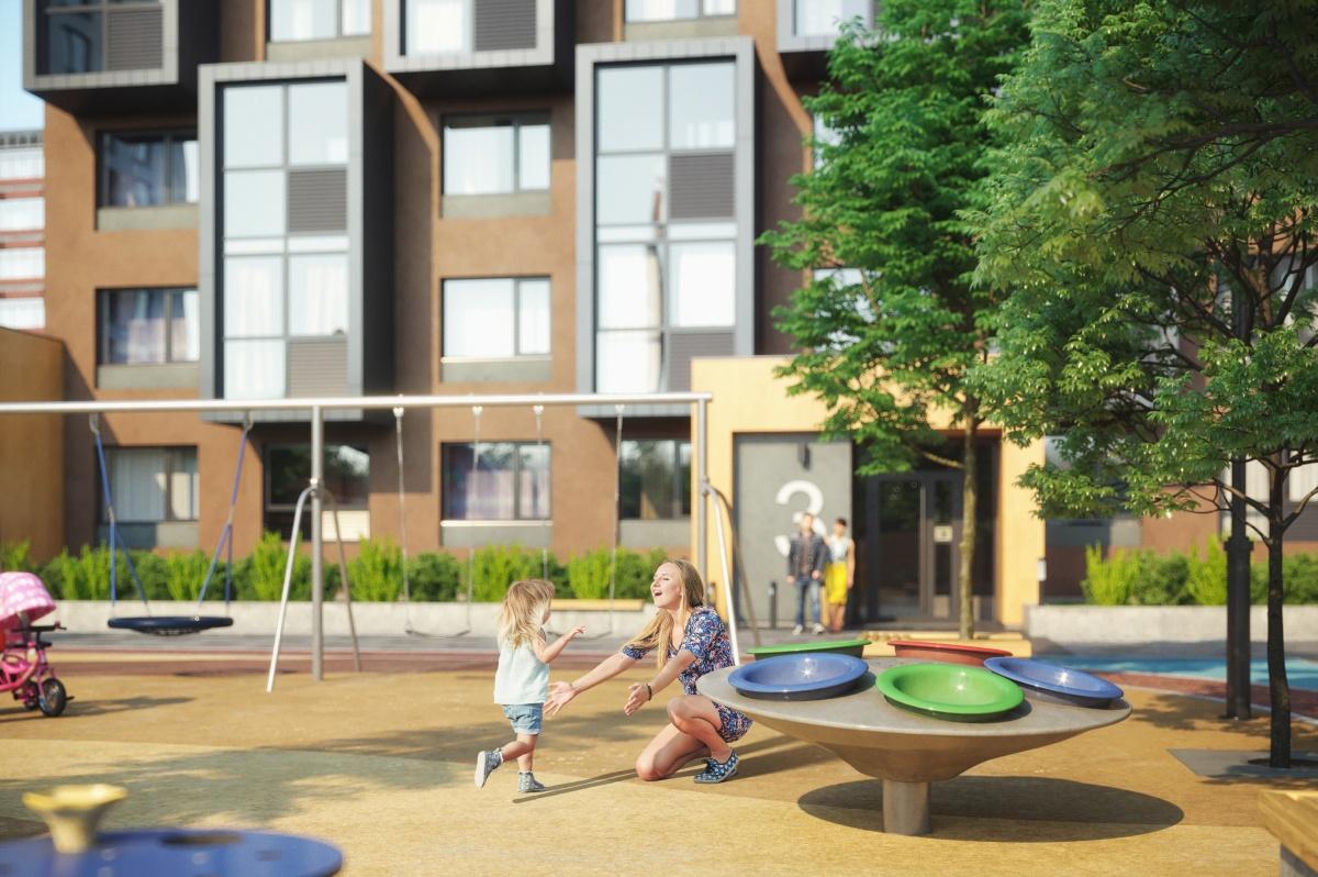 Детская площадка жилого комплекса станет настоящим произведением искусства