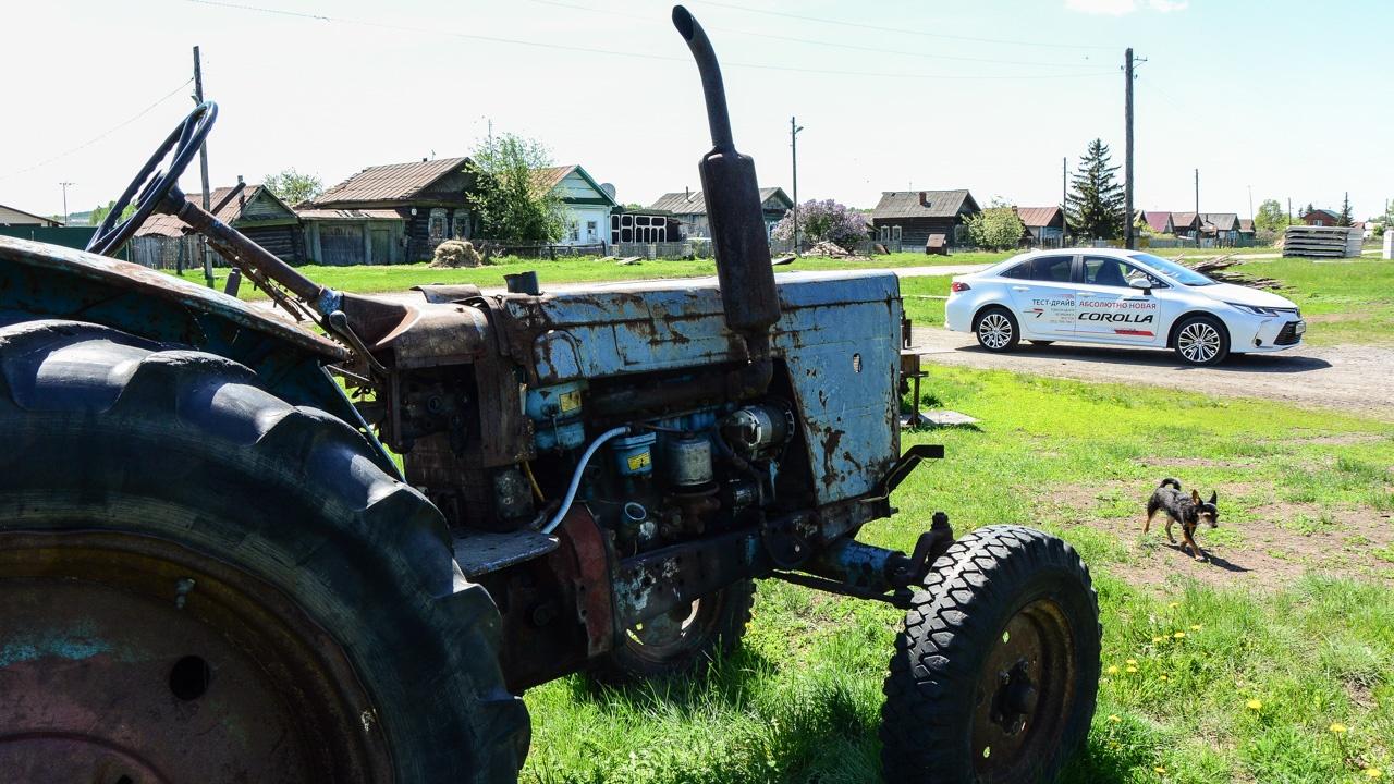 А в былые времена (когда этот трактор был в расцвете сил) Corolla стоила полмиллиона...
