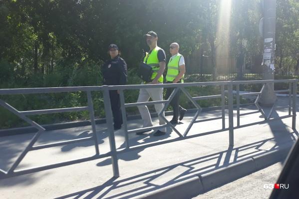 В свободное время активные жители города выходят на подмогу полицейским