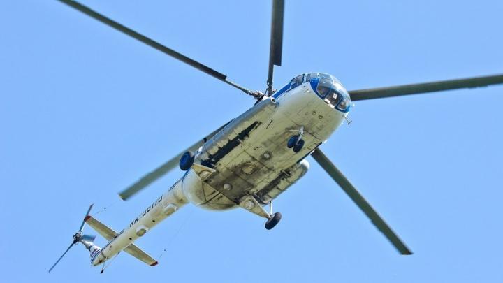 Коммунальщики решили кружить над городом на военном вертолёте с тепловизором
