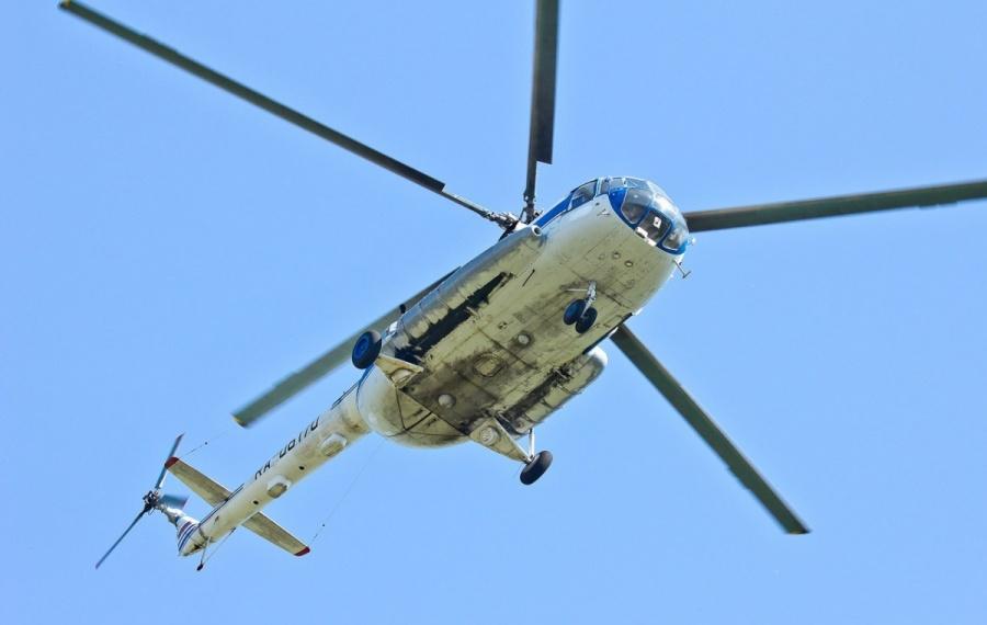 Коммунальщики решили кружить над городом навоенном вертолёте степловизором