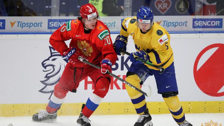 Молодёжка в финале: сборная команда России обыграла Швецию на чемпионате мира