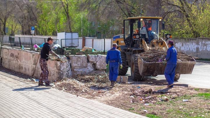 Владельцев магазинов и предприятий Самары обязали следить за чистотой прилегающих территорий