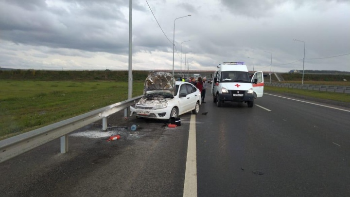 Годовалый ребенок пострадал в ДТП на Челябинском тракте