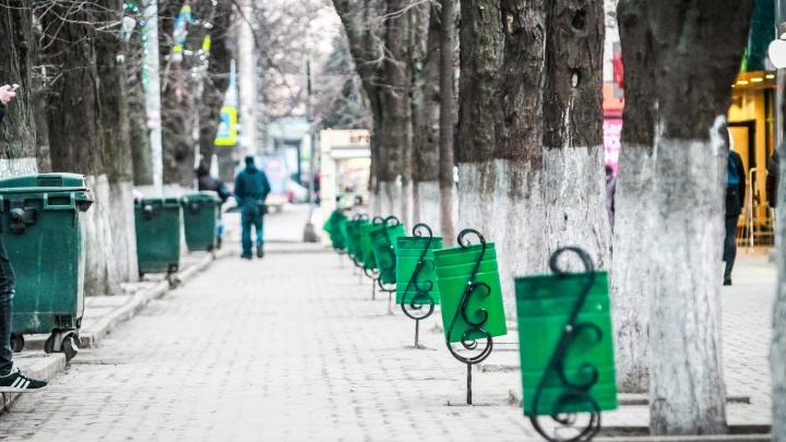 Золотая уборка: Советский район Ростова будут чистить от снега и благоустраивать за 34 млн рублей