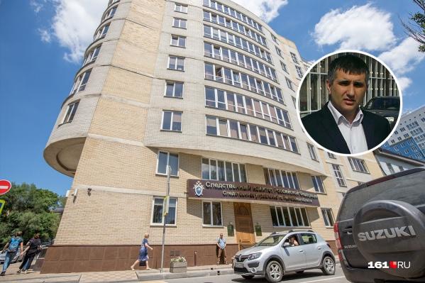 Обыск у Валерия Каргаева провели сегодня утром