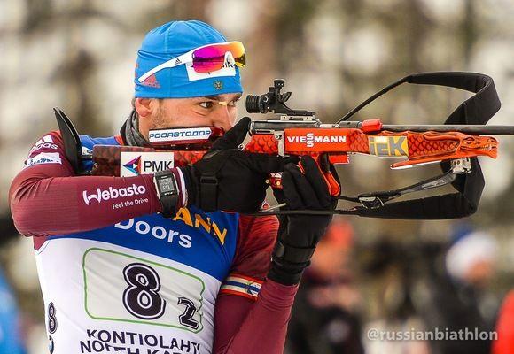 Антон Шипулин преодолел дистанцию за 38 минут 24,1 секунды, допустив один промах на четырёх огневых рубежах