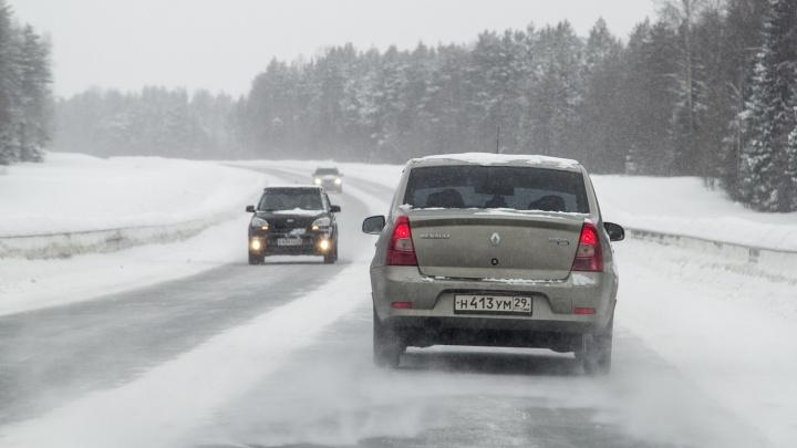 На трассах Архангельской области вводят весенние ограничения для большегрузов