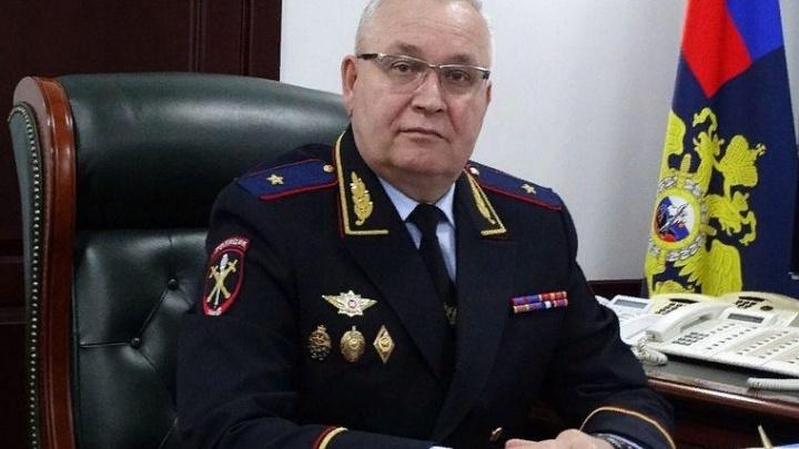Новым начальником свердловской полиции стал генерал из Астрахани