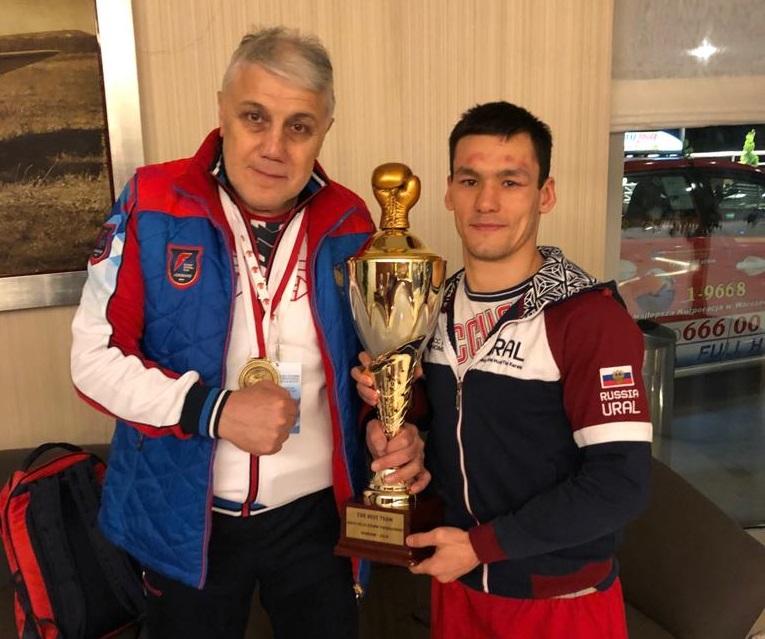 Уральский боксер в составе сборной России завоевал золото на международном турнире в Варшаве
