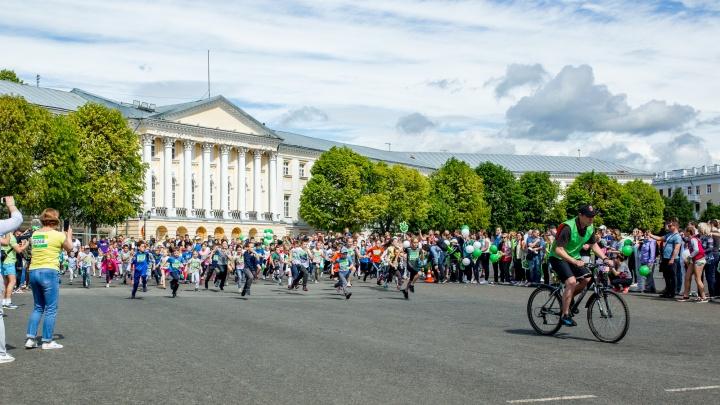 В Ярославле прошел «Зеленый марафон» от Сбербанка
