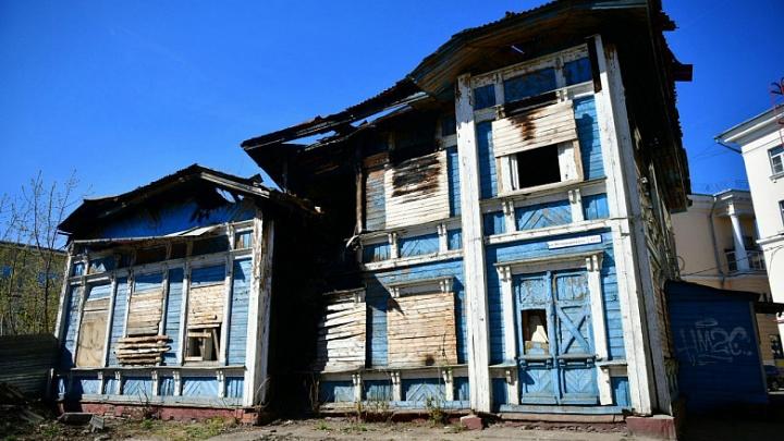 «Это выглядит ужасающе»: в центре Ярославля восстановят разрушенный дом-памятник
