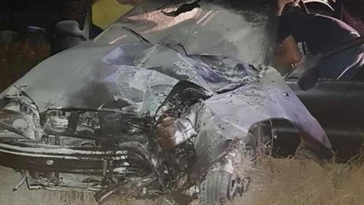Забил салон до отказа: в аварии под Азовом пострадали семь человек