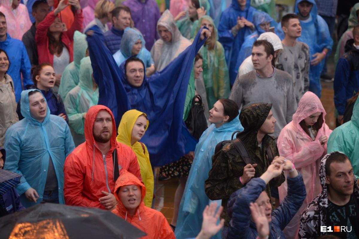 Почему бы не потанцевать под дождем?