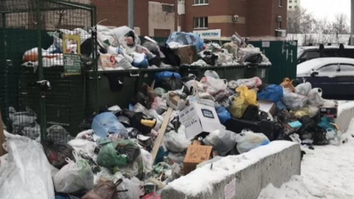 Половина населения Самарской области не заплатила за вывоз мусора