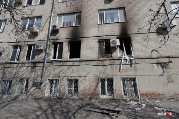 Полиция считает, что пожар не был случайным