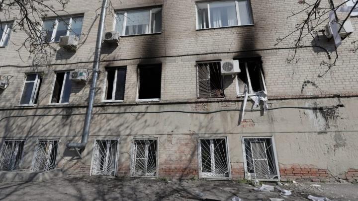 Стала известна причина пожара в ростовской больнице № 6