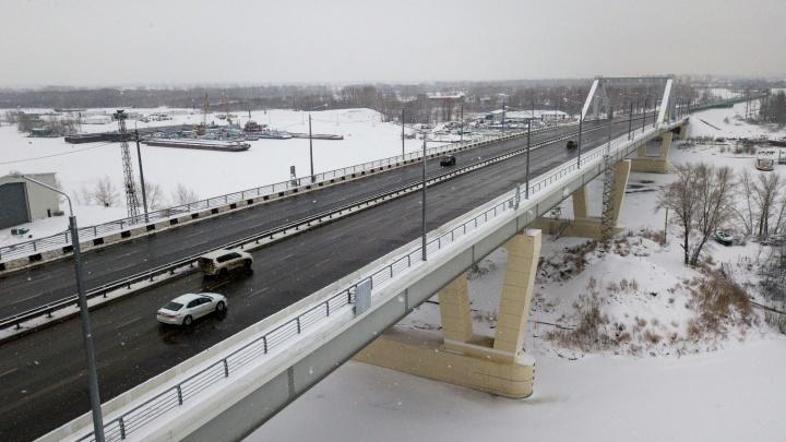 Фрунзенский мост введут в эксплуатацию в марте