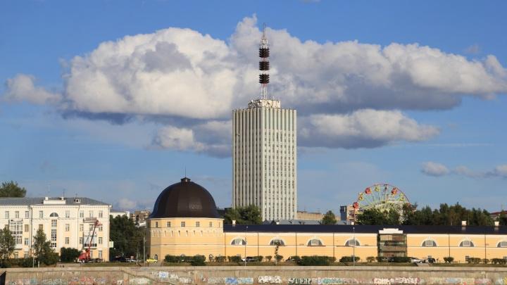 Волшебный город: как выглядит центр Архангельска с другого берега