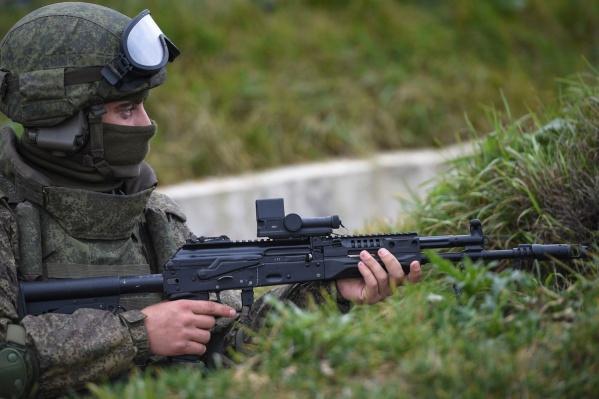 Теперь военные займутся пристрелкой и обслуживанием нового оружия