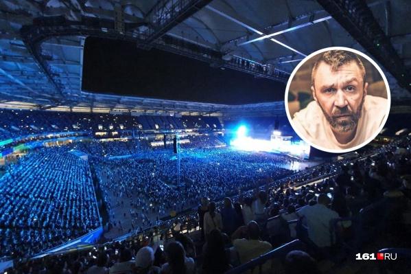 Сергея Шнурова обвинили в нецензурной брани на стадионе «Ростов Арена»