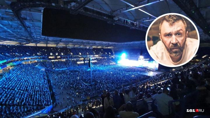 На Сергея Шнурова написали заявление в полицию после концерта в Ростове-на-Дону