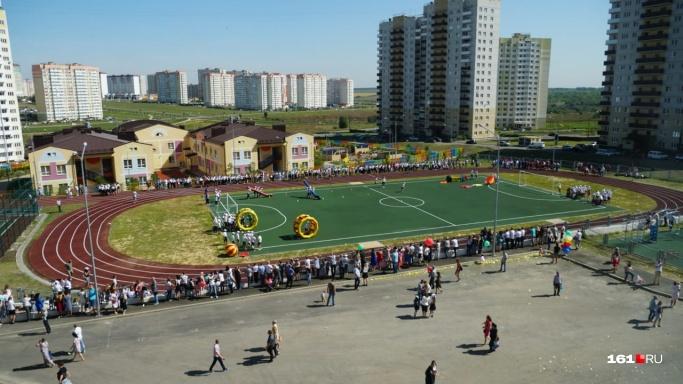 """В сентябре власти открыли школу <nobr class=""""_"""">№&nbsp;75</nobr> в Суворовском — ее&nbsp;строили несколько лет и&nbsp;вложили в нее миллиард рублей&nbsp;"""