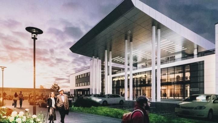 Вид на Волгу сквозь здание: рассматриваем эскизы нового речного вокзала Самары
