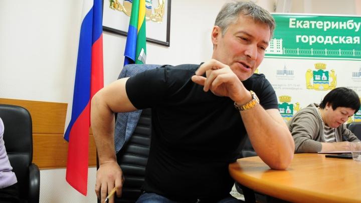 Евгений Ройзман снял свою кандидатуру с выборов губернатора Свердловской области