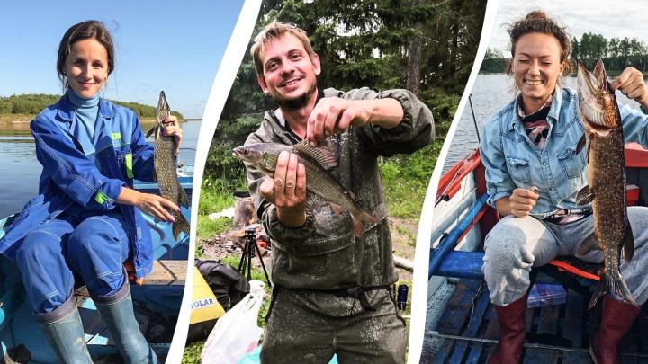 Кенозерская щука и хариус из Емцы: показываем, какую рыбу поймали жители Архангельской области