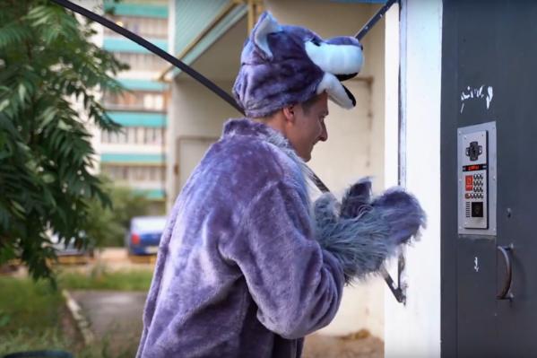 Преградой на пути волка стали «умные» домофоны, которые недавно появились в Самаре