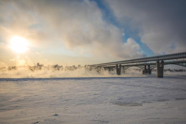 Морозы начнут отступать от города уже в пятницу