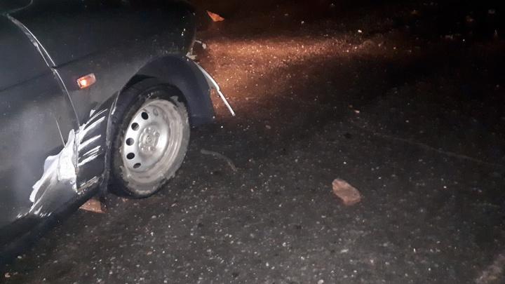 «Машину не восстановить»: каменные глыбы завалили дорогу в Катав-Ивановске