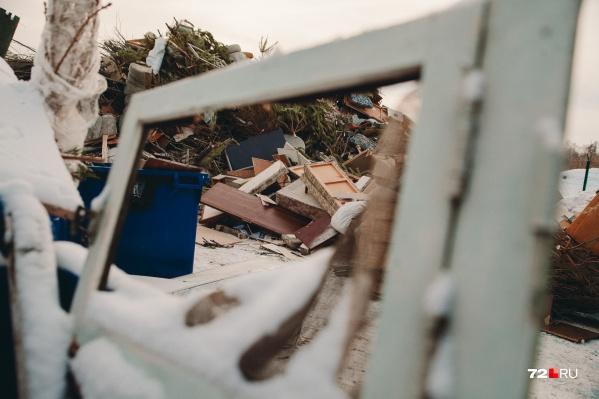 Свалка, которую использовали для складирования тюменских отходов, будут рекультивировать в два этапа: технический и биологический