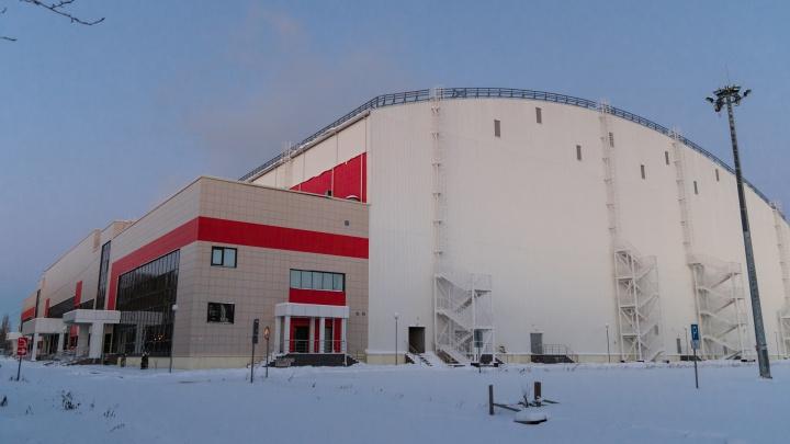 Ремонт в футбольном манеже «Пермь Великая» закончат в конце марта