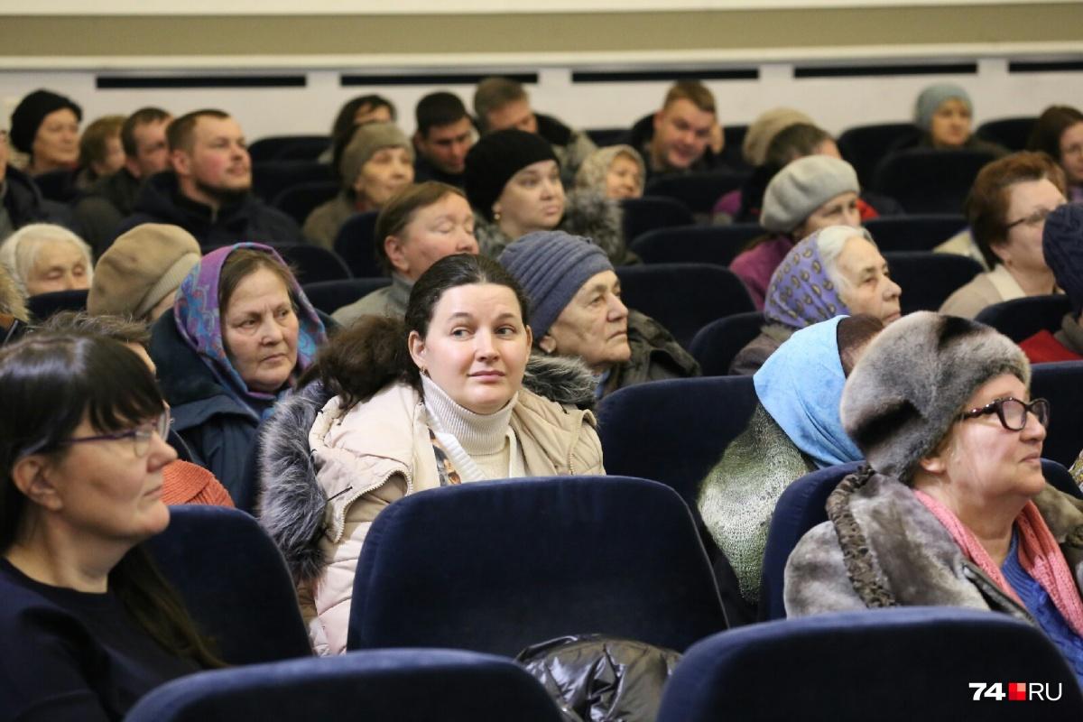 На публичных слушаниях рассматривались четыре дома для дольщиков в Чурилово