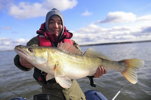 По словам новосибирца, это его самый крупный улов за всё время увлечения рыбалкой