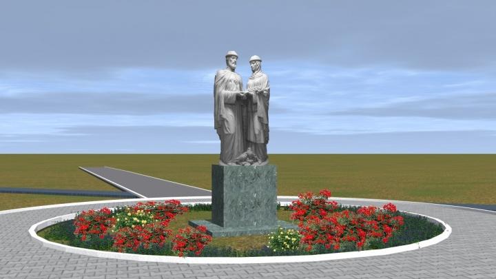 «Стоят по всей России»: в Волгоградской области установят третью типовую скульптуру Петра и Февроньи