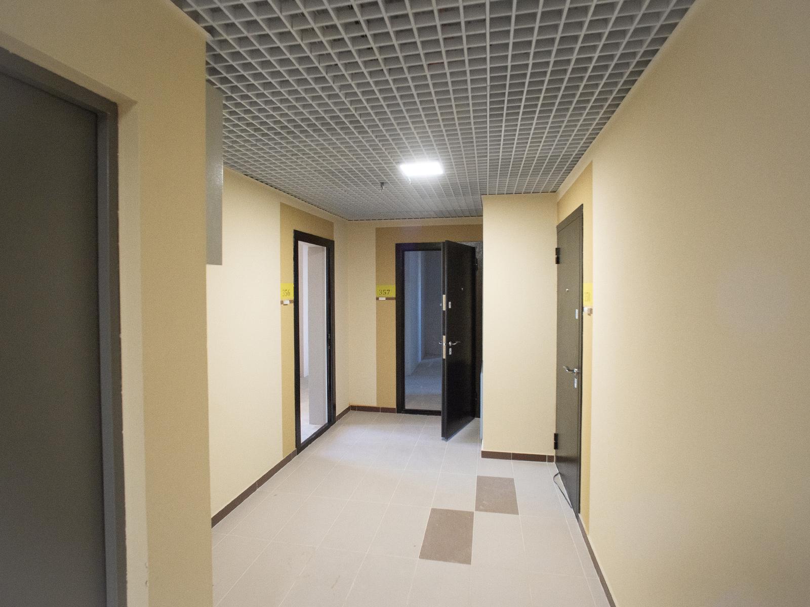Типовая этажная площадка