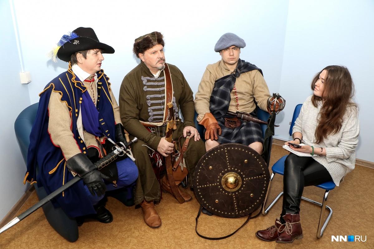 Клуб «Стрелковый полк» показывает эпоху XVII века на Руси и в Европе