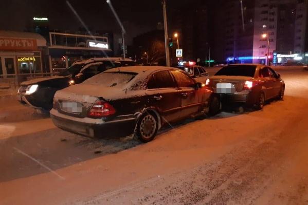 Авария произошла в Сипайлово