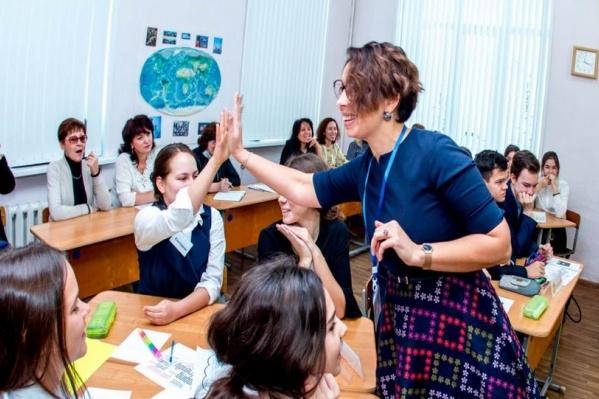 Эмма Сафиуллина — учитель английского языка в престижной языковой гимназии №39
