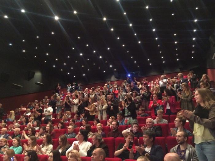 Зал кинотеатра «Победа» был забит до отказа