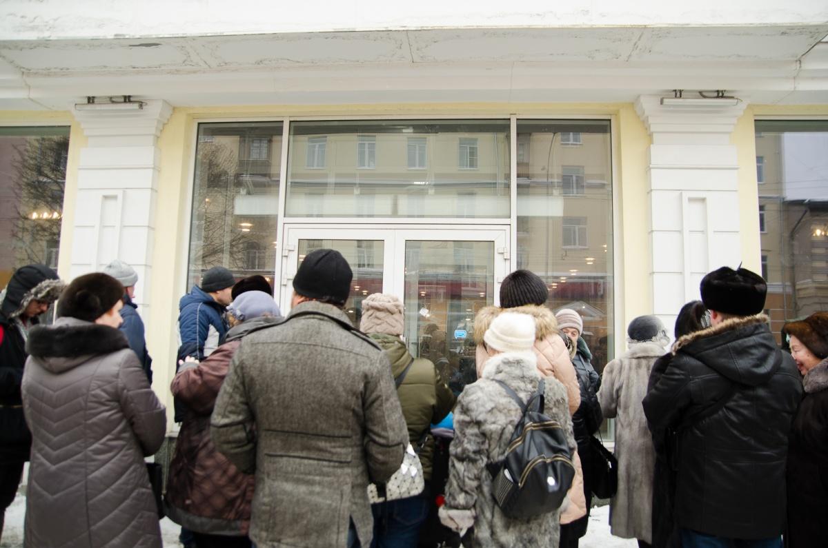 В день открытия «Все здесь» пообещал бесплатно накормить 300 посетителей