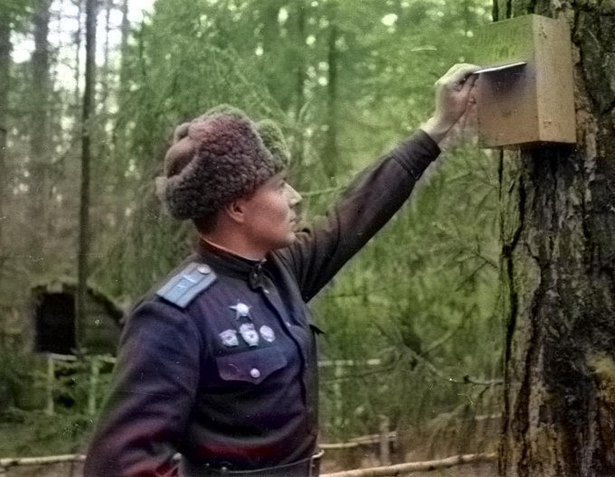 Почтовый ящик Уральского Добровольческого танкового корпуса