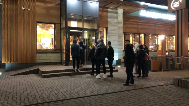В Ярославле эвакуировали «Макдоналдс»: внутри нашли подозрительный портфель