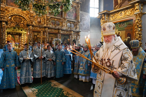 Святейший патриарх совершит чин великого освящения Софийского собора в Самаре