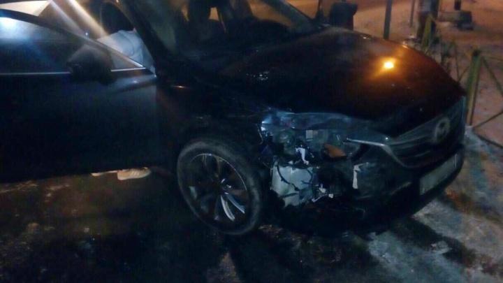 Пьяный лихач на «Мазде» снёс служебную машину Росгвардии с мигалками: подробности громкой истории